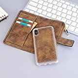 iPhone 6 Plus Wallet Case Cover,Wallet Case Removable Full 360 Protection Flip Folio with ID&Credit Card Pockets [Ultra Slim] Lightweight Case for iPhone 6 Plus / 6s Plus 5.5 inch