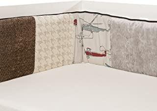 product image for Glenna Jean Fly-by Bumper, Taupe/Grey/Blue/Brown/Red