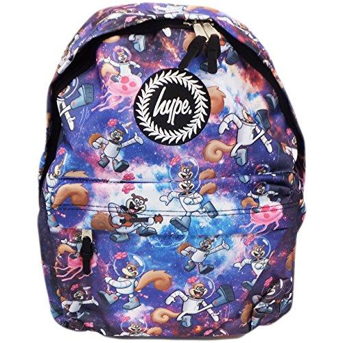Hype Mochila Bolsas Mochila–Bolso de escuela–muchos estilos nuevos colores y diseños–Elige tu favorito de 30 Sponge Bob Sandy Space