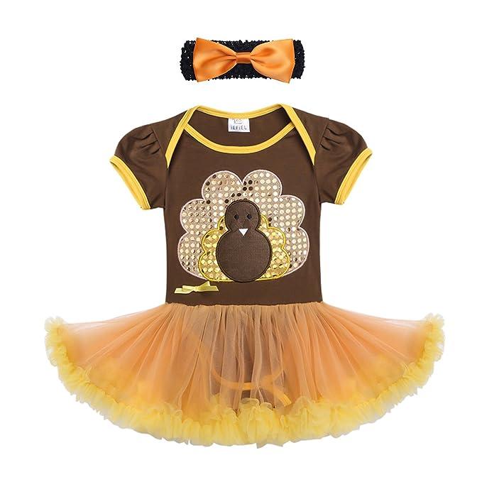 Amazon.com: iiniim – bebé niñas día de Acción de Gracias ...