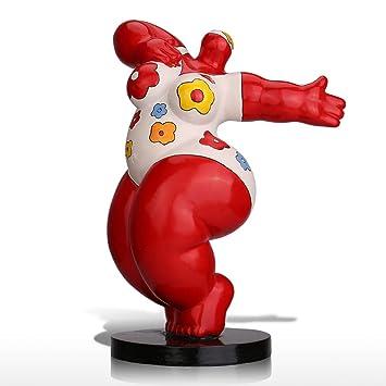 sculpture moderne grosse femme