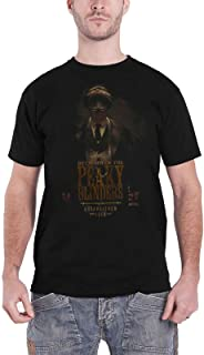 Peaky Blinders Official T Shirt by Order Est 1919 Tommy Logo New Mens Black