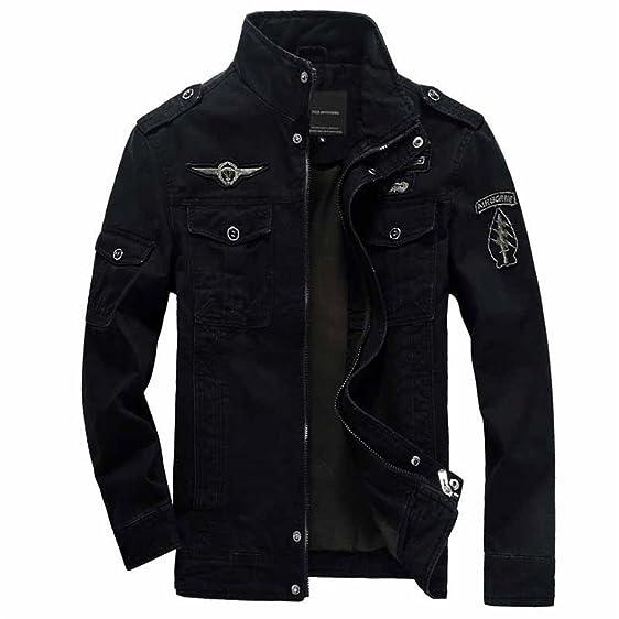 Amazon.com: winter NEW bomber jacket men Military jackets Mens ...