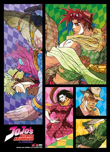Great Eastern Entertainment Jojo's Bizarre Adventure Wall-Decor-Stickers, One Size, Multi
