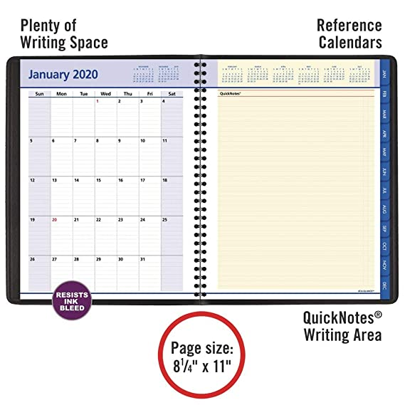 Amazon.com: AT-A-GLANCE 2020 Planificador semanal y mensual ...