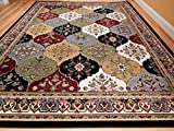 Area Rugs for Living Room New Multi-Color Panal and Diamonds Area Rug 5x7 Rugs For Living Room Under 50 Turkish Pattern Carpet, 5x8 Feet