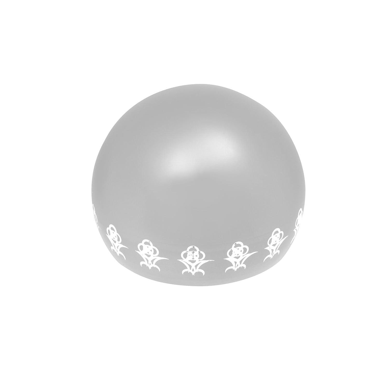 リアン (Lien) 7月ルビー ペット専用骨壺 メモリアルボール リアン オープンフラワー オレンジ B07BG1NXLY シルバー  シルバー|4月ダイヤモンド