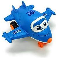 FunBlast Pull Push Back Action Robot Aeroplane Toy for Kids, Transformer Converting Mini Aeroplane to Robot | Transformer Toy for Kids and Children. (Random Color)