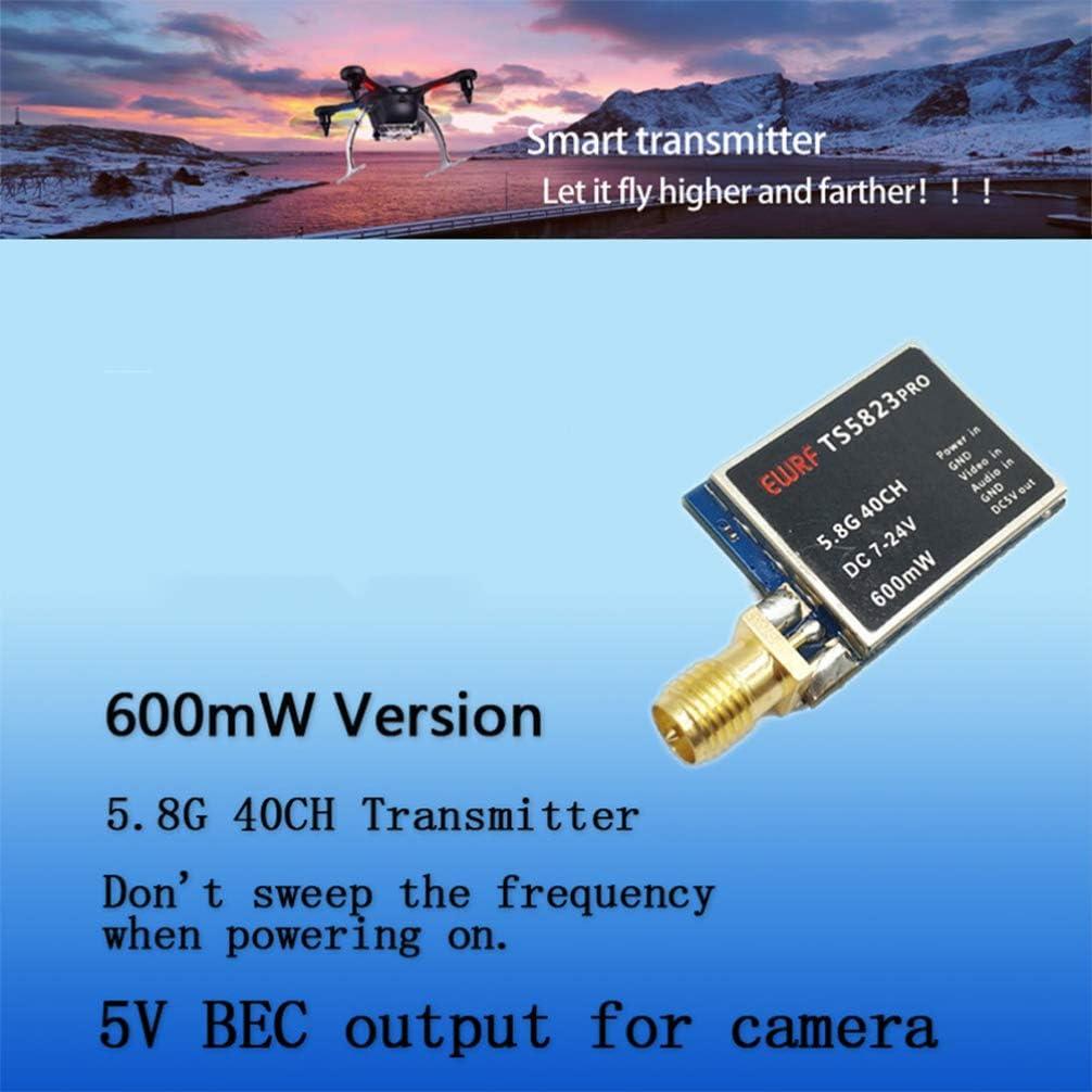 TOYANDONA Transmisor de Video Transmisor FPV para Quadcopter Soporte UAV Accesorios