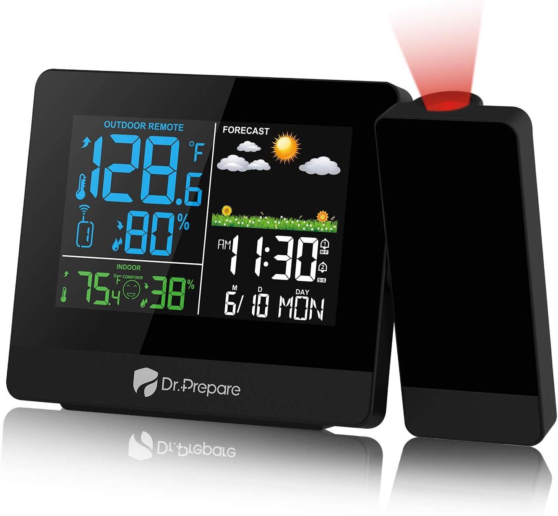 DR.PREPARE Projection Alarm Super Special SALE held Clock on Digital Ce Japan Maker New Projector