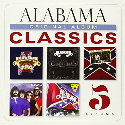 Alabama Original Album Classics - 5 Albums CD Collection + Digital Copy My Home's in Alabama / Feels so Right / Mountain Music / The Closer You Get / Roll On (Alabama Roll On)