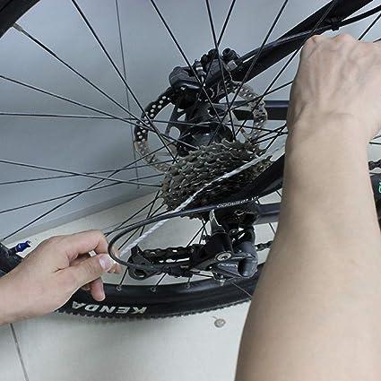 Balight 8 Piezas/Paquete Bicicleta portátil MTB Volante Guía ...