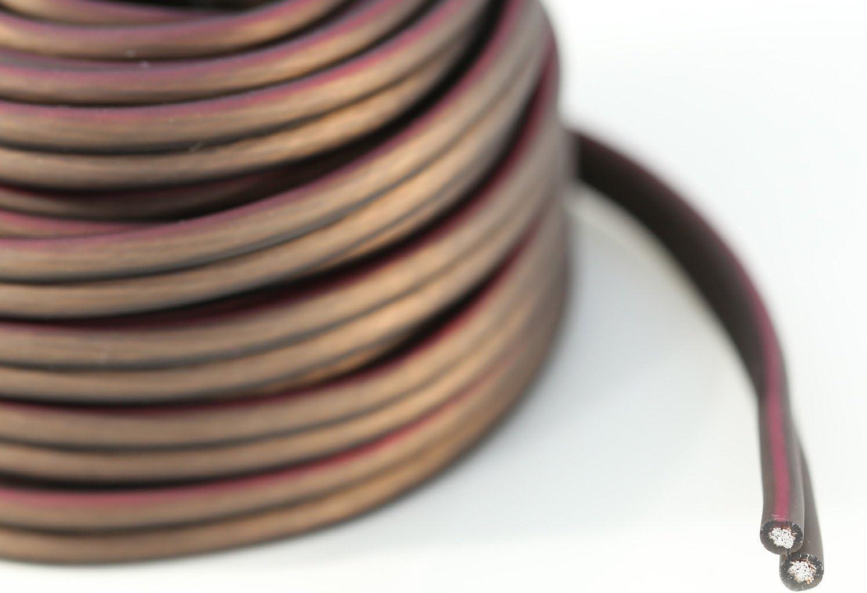 KnuKonceptz Bassik 16 Gauge Speaker Wire Cable 100 Feet