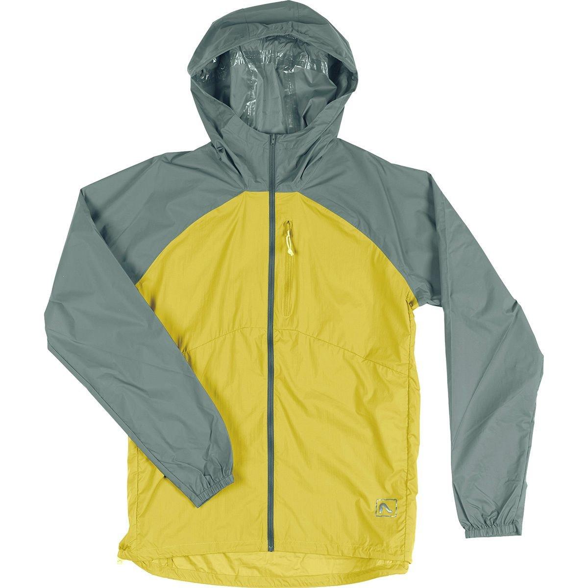 Flylow Rainbreaker Jacket – Men 's B07BWW1JQN M Herb/Squash Herb/Squash M