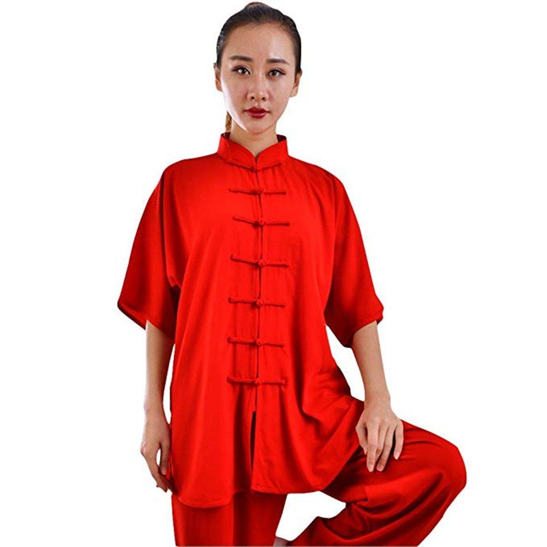 Wuyinコットンシルク太極拳服太極拳服武術カンフー服Tang Suits (サイズチャートで最後フォト) B07F5J4NFG X-Large|BDTS-5 BDTS-5 X-Large