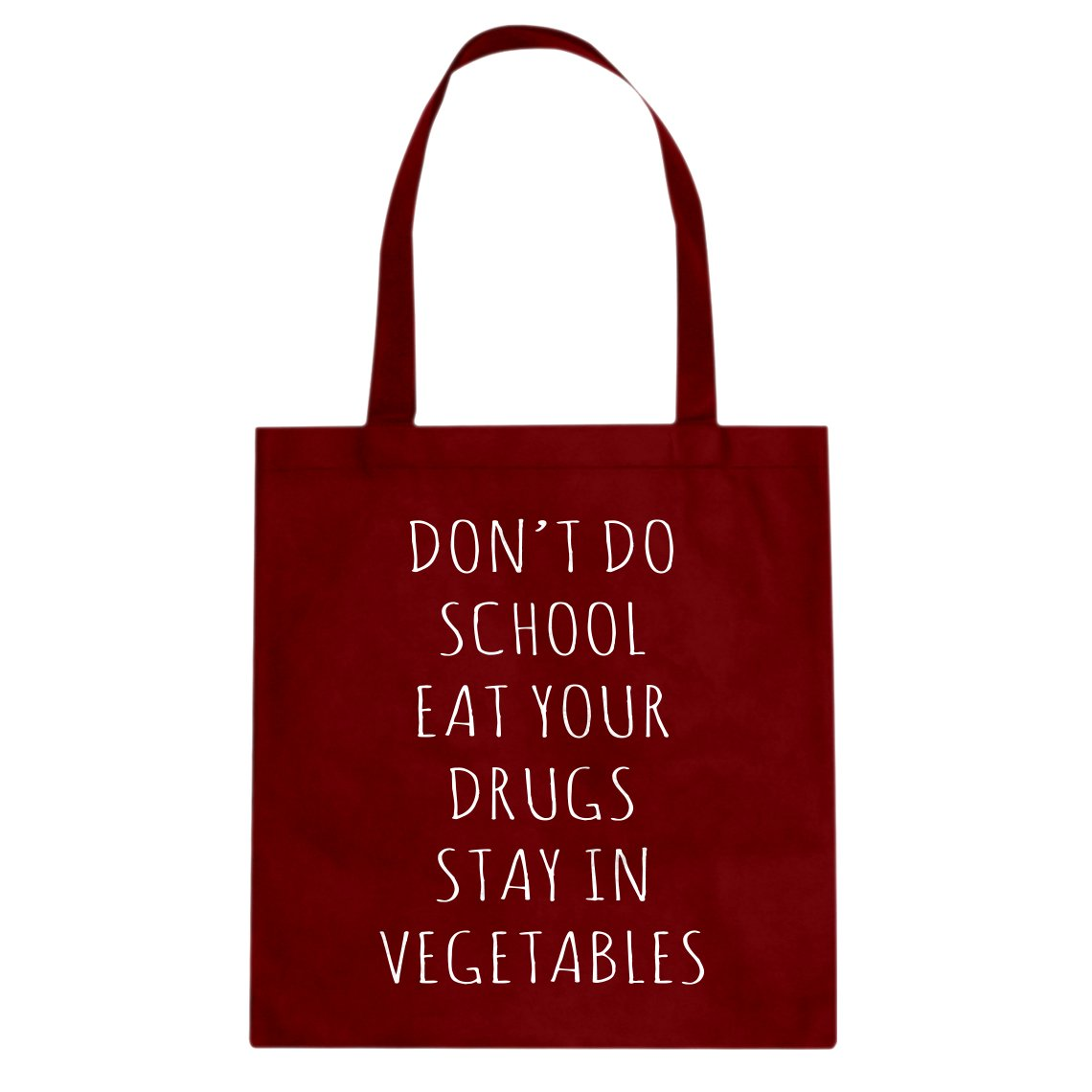 Indica Plateau Eat Your Drugs Cotton Canvas Tote Bag