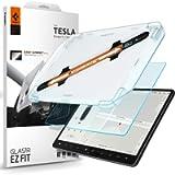 Spigen Tempered Glass Screen Protector [Glas.tR EZ Fit] Designed for Tesla Model 3 / Model Y Screen Protector…