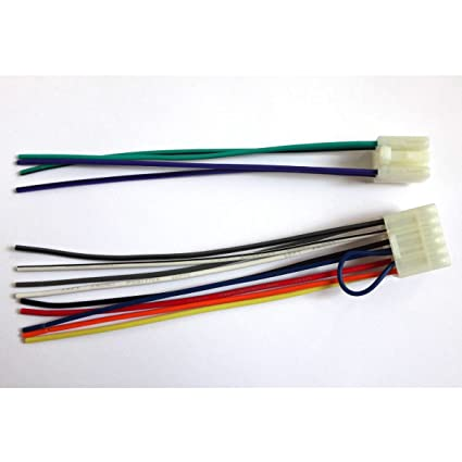 amazon com for radio reverse male wire wiring harness toyota echo rh amazon com
