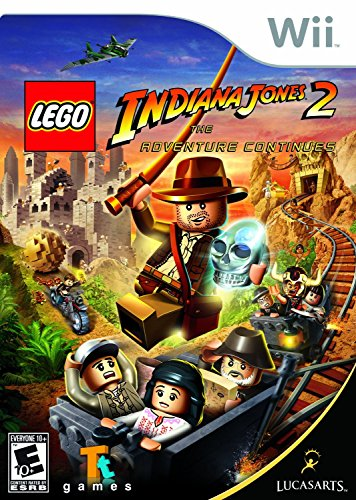 Lego Indiana Jones 2: The Adventure Continues - Nintendo Wii by LucasArts