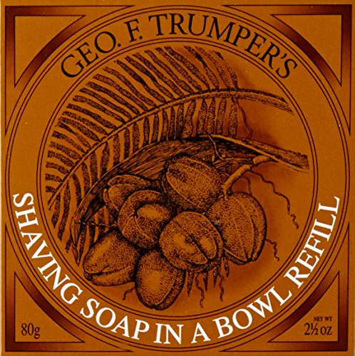 (Geo F. Trumper's Coconut Oil Hard Shaving Soap Refill)