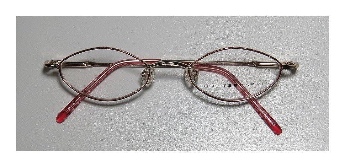 86172d91596 Amazon.com  Scott Harris 758 Childrens Kids Girls Designer Full-Rim Shape  Spring Hinges Affordable Eyeglasses Eye Glasses (42-18-120