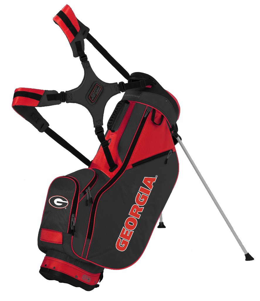 Sun Mountain 2015 Collegiate Licensed Three 5 Men's Golf Carry Bag (Georgia) by Sun Mountain (Image #1)