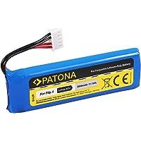 PATONA 6711 vervanging voor batterij JBL GSP872693 01 (3000mAh) - compatibel met JBL Flip 4