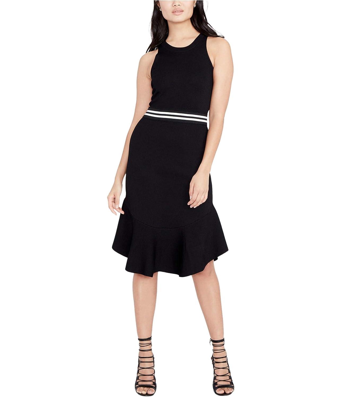 Black Rachel Rachel Roy Womens Sleeveless KneeLength Wear to Work Dress