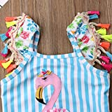 Kids Toddler Baby Girl One Piece Swimsuit Beach