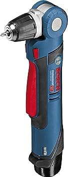 Bosch Professional GWB 12V-10 - Taladro angular a batería (2 baterías x 2.0 Ah, 12V, en L-BOXX)