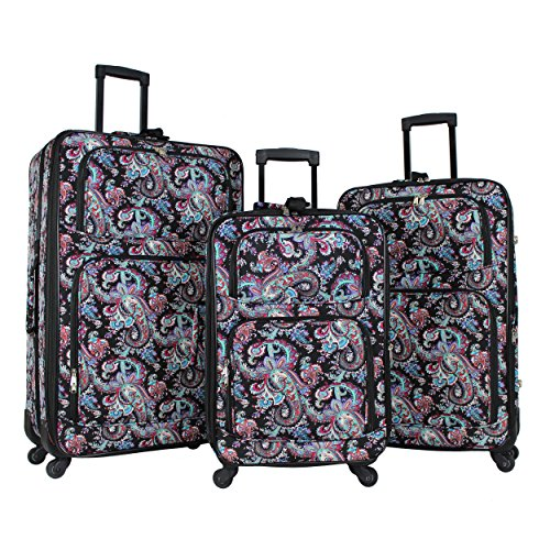 World Traveler 3-Piece Rolling Expandable ()