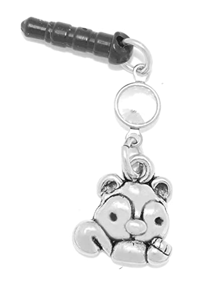 3c1f22917125 Amazon.com  Clayvision Squirrel Chipmunk Phone Charm with Swarovski ...