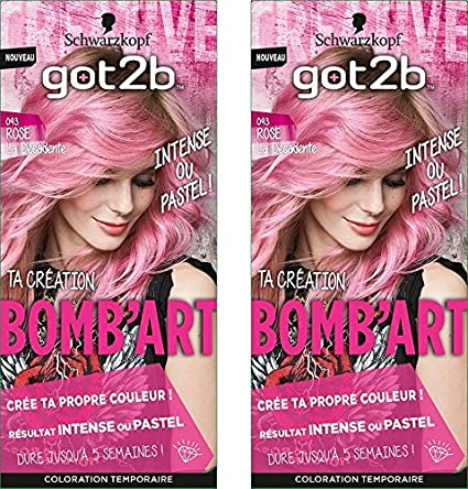 got2b la décadente 093 Coloración Semi Permanente bomb arte ...