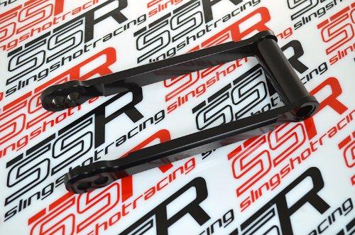 (2006-2010) Suzuki GSXR600 GSXR750 Black Rear Height Lowering Links Dog Bone Adjusters Adjustors