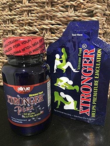 Kit Xtronger Plus (Sexual estimulant) - Xtronger Helps Premature Ejaculation Oil - Men (Best Oil For Premature Ejaculation)
