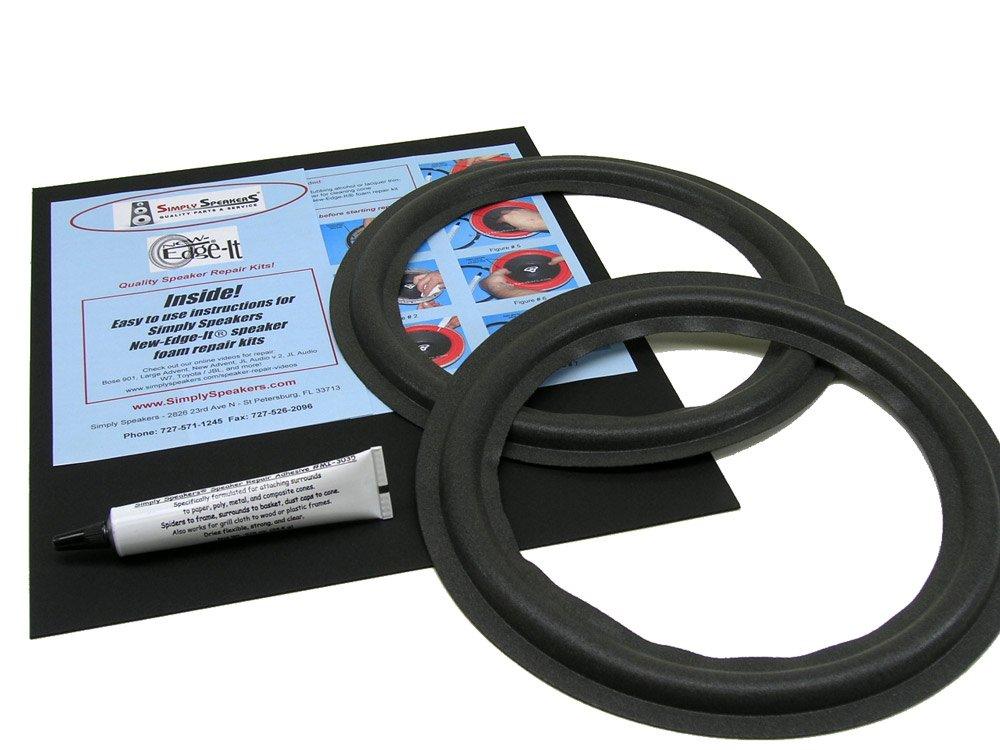 KLH Speaker Foam Edge Repair Replacement Kit, 10'', FSK-10A