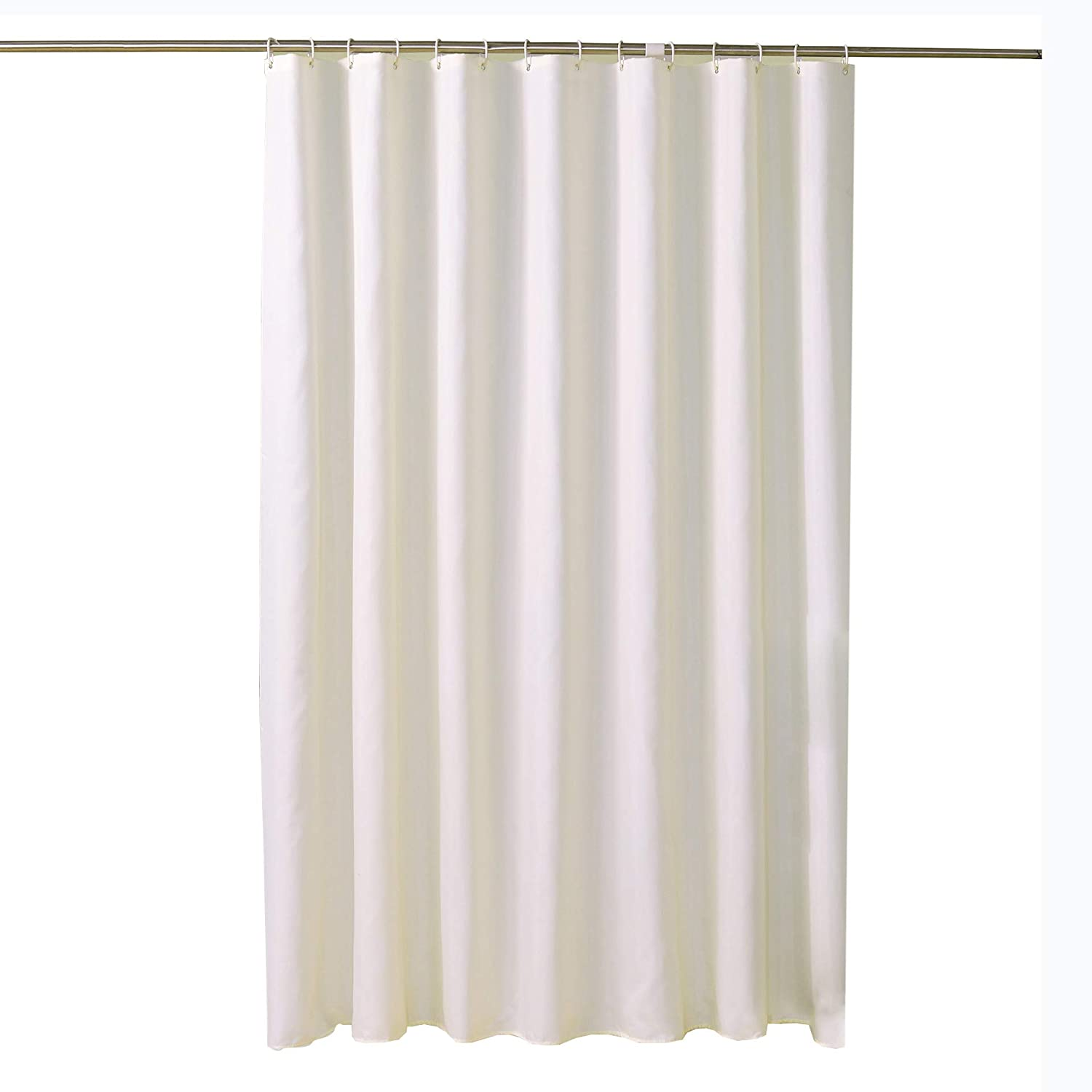 Amazon Solid Color Bathroom Shower Curtain Polyester Fabric Decoration Home Kitchen