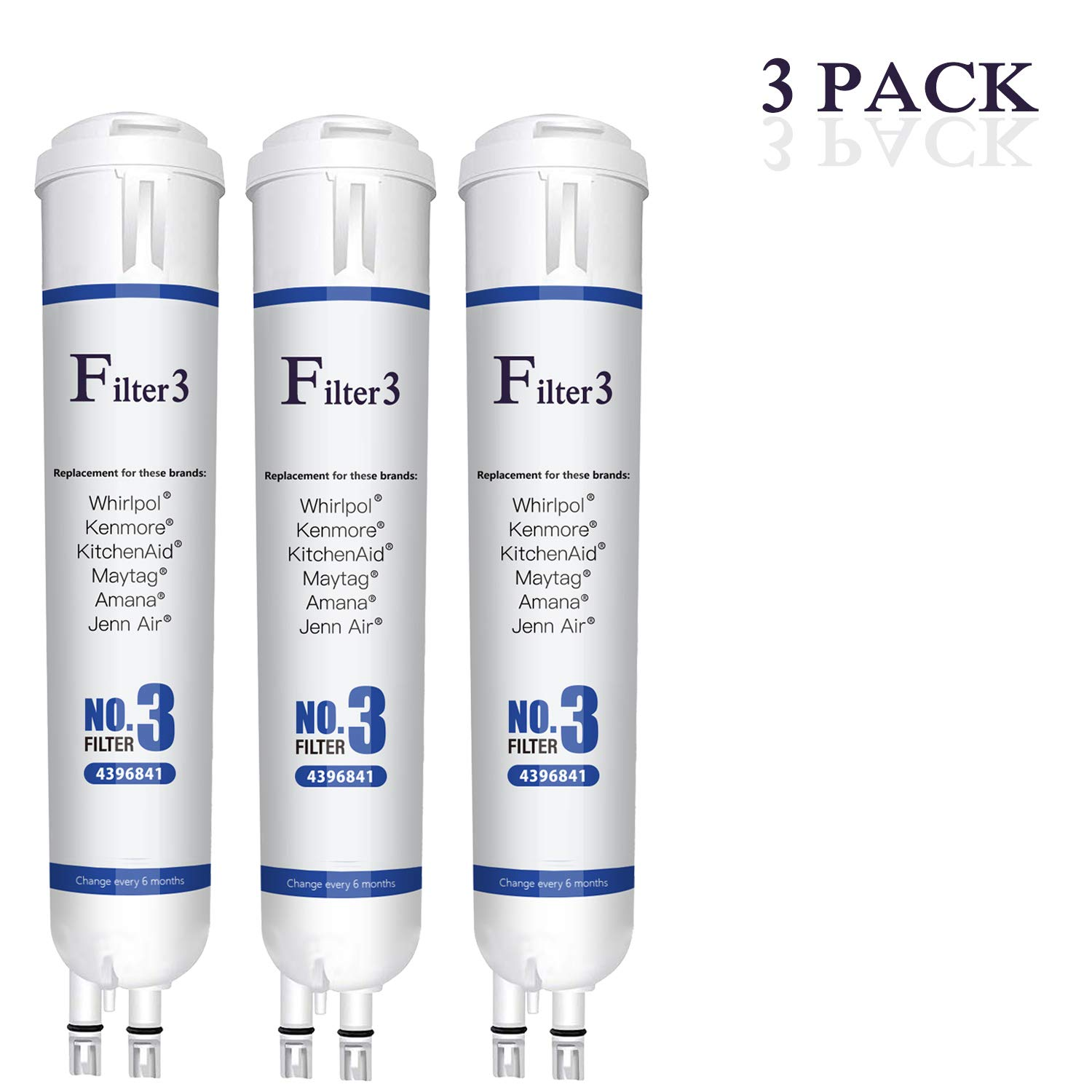 3 Pack Replacement(3) by Ke Ka