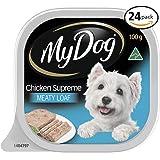 MY DOG Chicken Supreme Wet Dog Food 100g Tray, 24 Pack