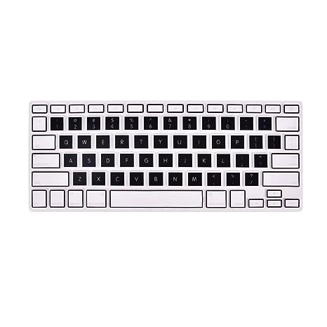 """CTGVH Protector para Teclado,Funda para Teclado,de Silicona para MacBook Pro 13"""""""