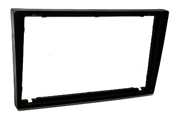 Aerzetix C4580 2 DIN marco embellecedor con adaptador para Autorradio Auto coche, Negro: Amazon.es: Coche y moto