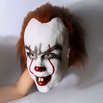 halloween clown mask for men Horror mask pennywise 2017 movie ...