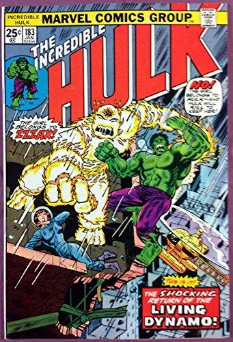 Incredible Hulk (1968) #183 NM (9.4) Zzzak app Pre-Hero Atlas type monster