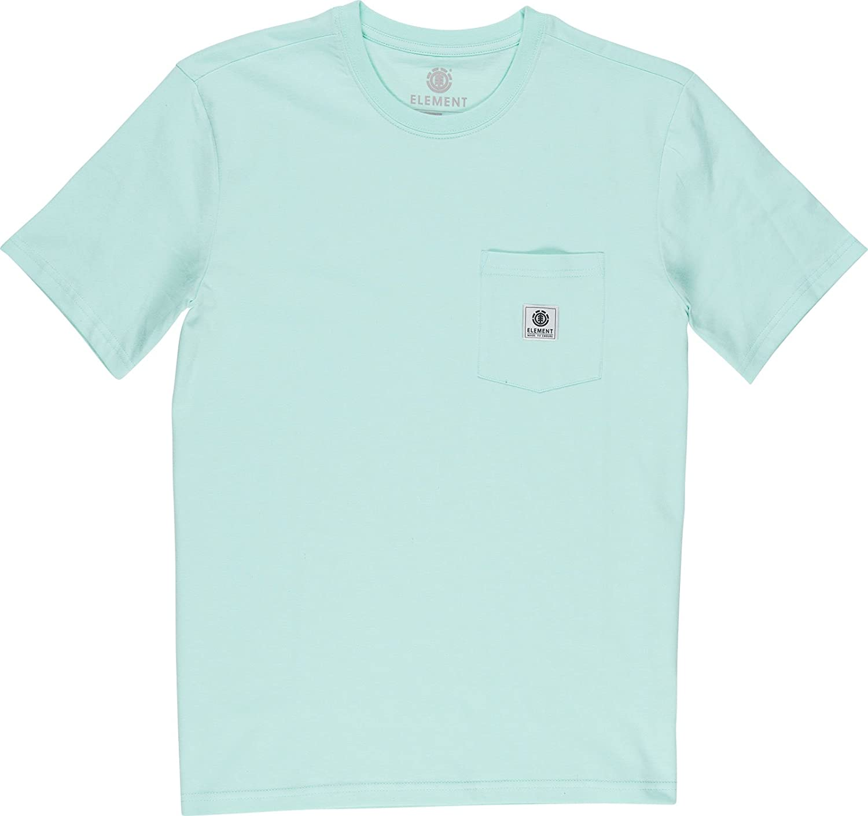 Element Basic Pocket Label Camisetas, Hombre: Amazon.es: Deportes y aire libre
