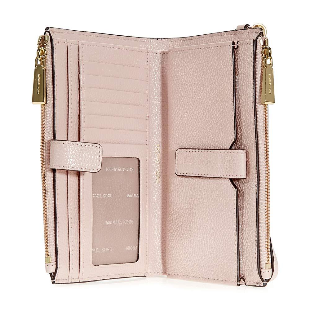 MICHAEL by Michael Kors Adele Bolso de Mano de Cuero Rosa Mujer Soft Pink one size: Amazon.es: Zapatos y complementos