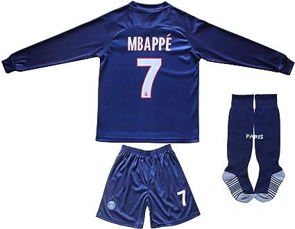 2019 Paris Home long sleeve soccer jersey