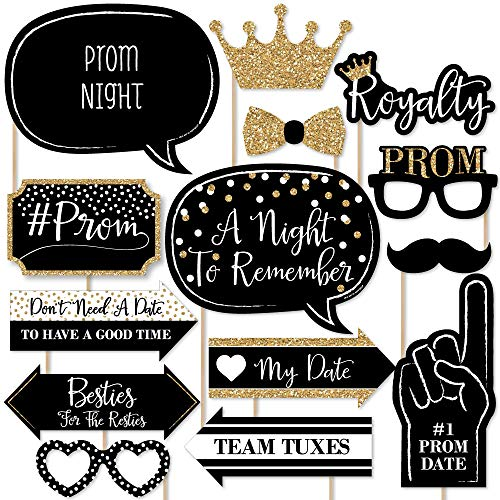 Prom - Photo Booth Props Kit - 20 Count