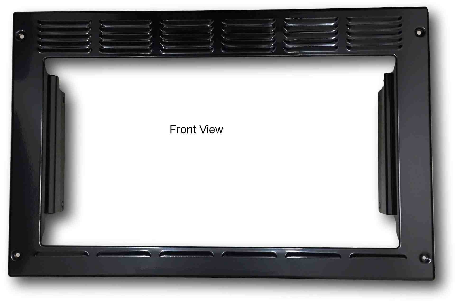 Advent PMWTRIM Trim Kit for MW900B and MW912B Black Built-in Microwave Oven, Black, Outside Dimensions: 23.25W x 15H x 2.75D in. Inside Opening: 19W x 10.5H in. Box: 24 x 15.25 x 3.25 in.