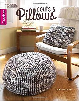 Level Design Pouf.Poufs Pillows Crochet Leisure Arts 6886 Ashley