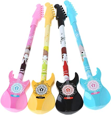 cuigu 1 pieza Guitarra Novedad Bolígrafo lápiz kawaii Gel ...